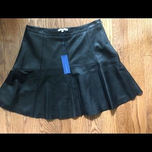 Rebecca Minkoff leather mini skirt